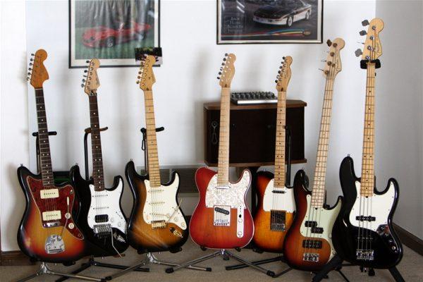 Nhạc cụ Sông Mơ là nơi phân phối đàn guitar điện giá rẻ hàng đầu