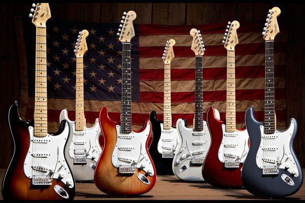 Nhạc cụ Sông Mơ là nơi phân phối đàn guitar điện Fender chất lượng nhất