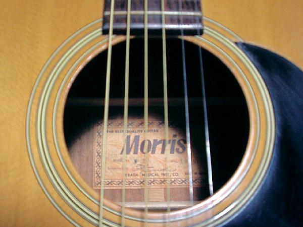 Đàn Guitar Acoustic MORRIS F-15 có kết cấu chắc chắn, âm thanh sáng
