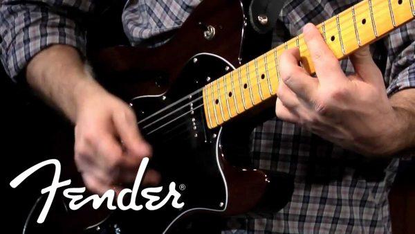 Đàn guitar điện Fender là thương hiệu đàn guitar điện nổi tiếng