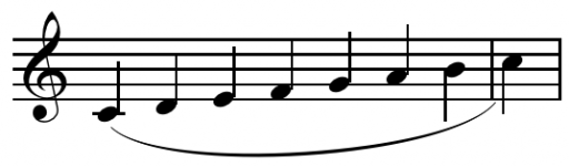 Dấu luyến là một dấu hình vòng cung nối 2 hoặc nhiều nốt nhạc khác cao độ với nhau
